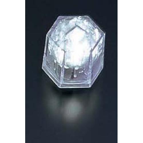 ライトキューブ・クリスタル 高輝度 (24個入)ホワイト LEDキャンドル