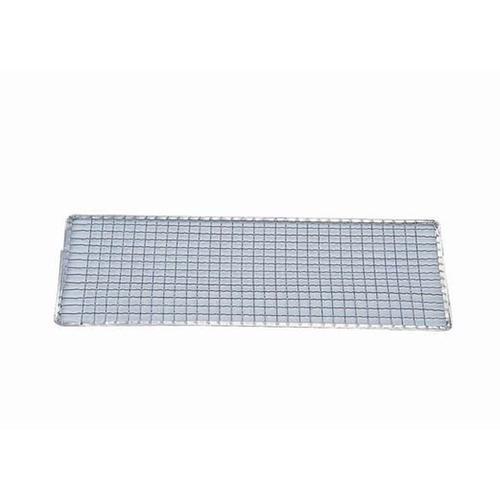 亜鉛引 使い捨て網 長角型(200枚入) S-13 焼網