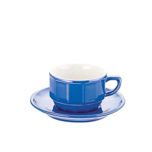 【正規逆輸入品】 フランス製 洋食器 コーヒー ティーカップ APILCO フローラティーカップ&ソーサー(6客入) PTFLTFLブルー グラス・食器 ― 業務用 7-2234-1202, パールネックレス Urbano 5bbdbaca