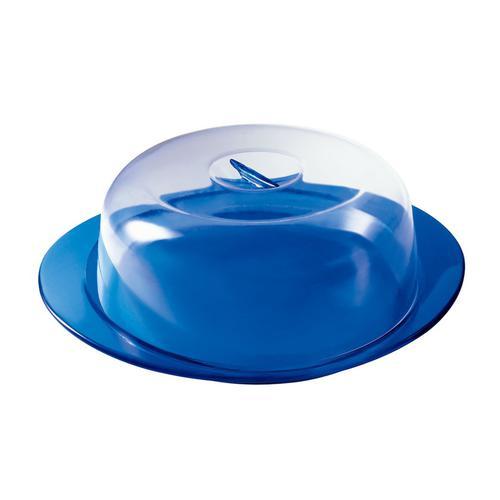 guzzini グッチーニ ケーキサービングセット 2292.0068ブルー ケーキドームセット