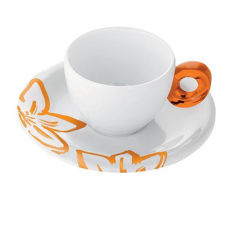 guzzini グッチーニ エスプレッソカップ6客セット 2830.0145オレンジ 洋食器