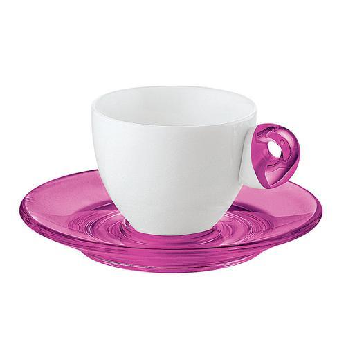 guzzini グッチーニ エスプレッソカップ6客セット 2232.0314ピンク 洋食器