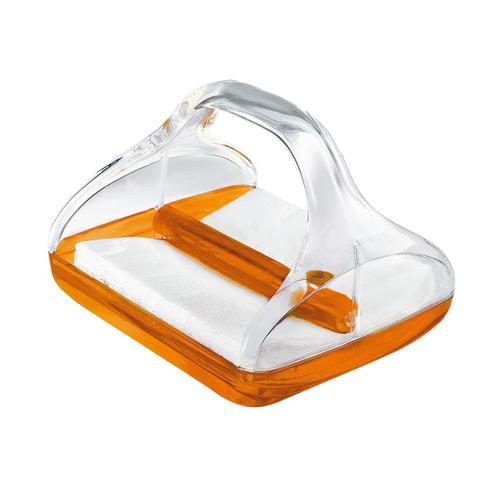guzzini グッチーニ ペーパーナプキンホルダー 2370.0045オレンジ ペーパーホルダー