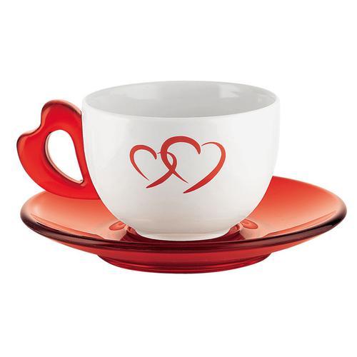 guzzini グッチーニ ラージコーヒーカップ 2客セット2678.0065 コーヒー&紅茶