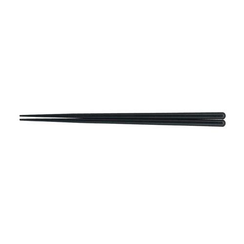 耐熱箸(50膳入) 23cmブラック 箸