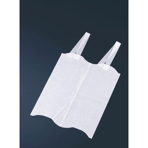 使い捨て エルフエプロン 4折紙タイプ (2000枚入) エプロン(食事用)
