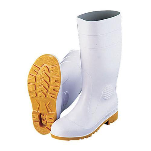 MIDORIANZE ミドリ 安全長靴ワークエースW1000 白(耐油性)26cm 長靴