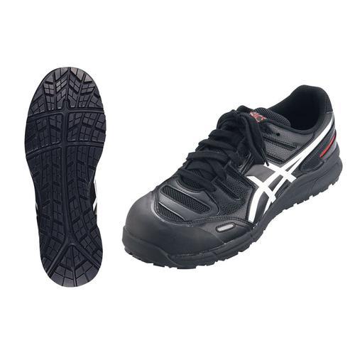 アシックス ウィンジョブ安全靴CP103 BK×ホワイト24.5cm 安全靴