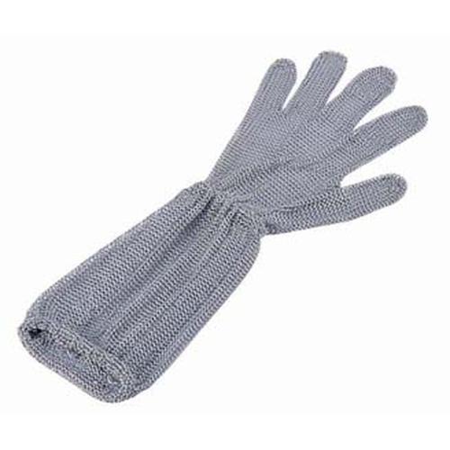 ロングカフ付 メッシュ手袋5本指 SLC-S5-MBO(1) 手袋(耐切創)