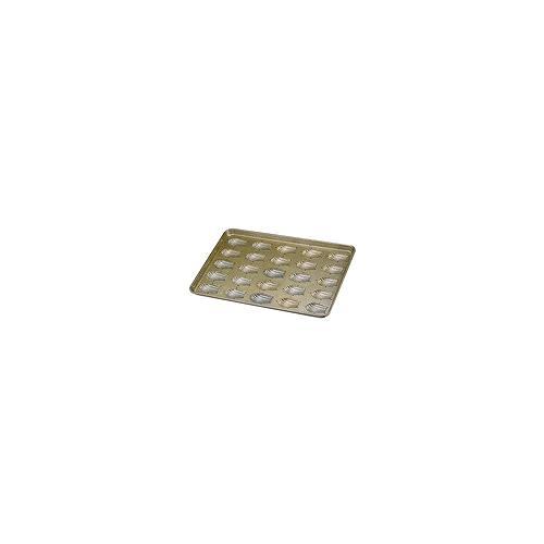シリコン加工 貝型マドレーヌ型天板  (25ヶ取)
