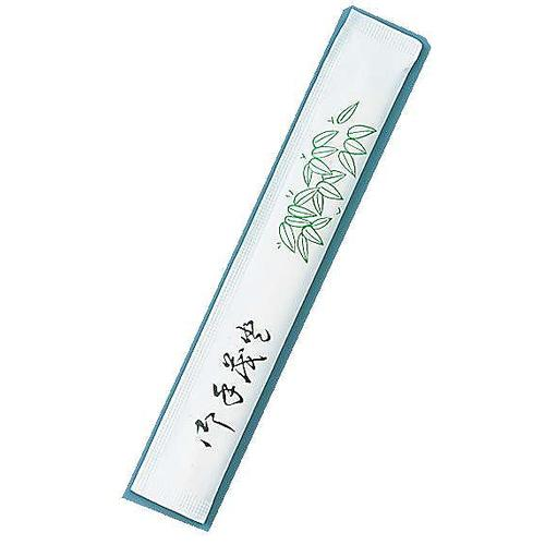 割箸完封 笹柄楊枝入り 松6寸小判 (1ケース500膳×8袋入)