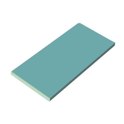 日本製 まな板 庖丁差 殺菌庫 瀬戸内一枚物カラーまな板 ブルー K12 1500×500×H20mm 料理道具 ポリエチレン 業務用 8-0353-0329