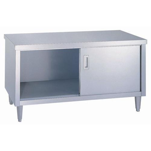 日本製 作業台 キッチン収納 シンコー EL型 ガス台 EL-12060 厨房機器·設備 ステンレス SUS430 業務用 7-0752-0410
