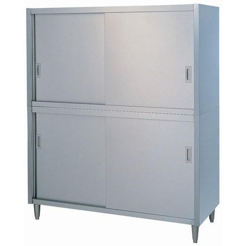 日本製 作業台 キッチン収納 シンコー C型 食器戸棚 片面 C-6045 厨房機器·設備 ステンレス SUS430 業務用 7-0754-0501
