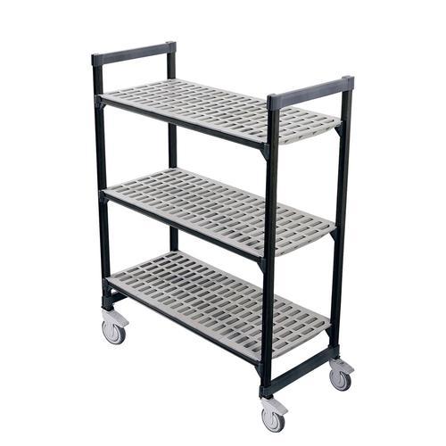 高品質な調理器具を食器プロ特価で 新品 棚 シェルフ TR460型移動式シェルビング3段 ワゴン ギフト 7-1126-0716 760×H1580 業務用