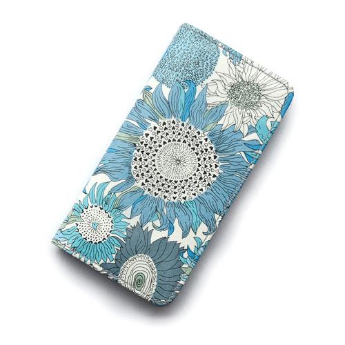 人気のスモールスザンナのブルーバージョン 爽やかなブルーが素敵です iPhone12 祝日 ケース 12Mini 12Pro Max iPhone11 11Pro 11pro 手帳型 スモールスザンナ スマホケース コーティング SHOKO リバティ 安い 激安 プチプラ 高品質 おしゃれ かわいい ブルー MIYAMOTO マグネット無しでカード安全