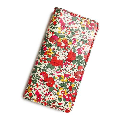 華やかなレッドカラーが素敵 iPhone XS Max iPhone8 Plus iPhone7 iPhone6s ケース 手帳型 リバティ クレアオード おしゃれ case マグネット無しでカード安全 格安店 迅速な対応で商品をお届け致します Liberty かわいい SHOKO MIYAMOTO アイフォンケース コーティング レッド スマホケース