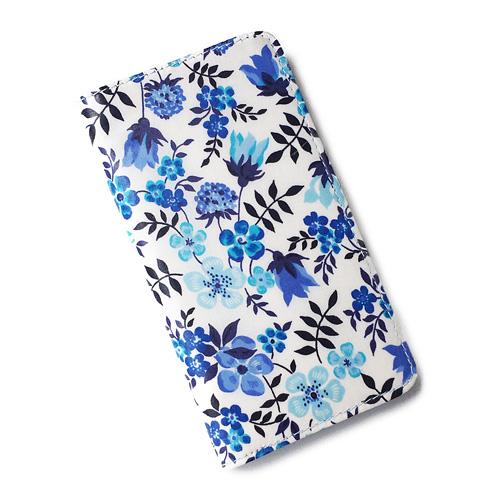 ハイクオリティ 除菌ティッシュで拭けるオリジナルコーティングで毎日安心 iPhone XS Max iPhone8 Plus iPhone7 iPhone6s ケース 手帳型 おしゃれ 70%OFFアウトレット SHOKO スマホケース かわいい リバティ アイフォンケース エデナム マグネット無しでカード安全 MIYAMOTO ブルー