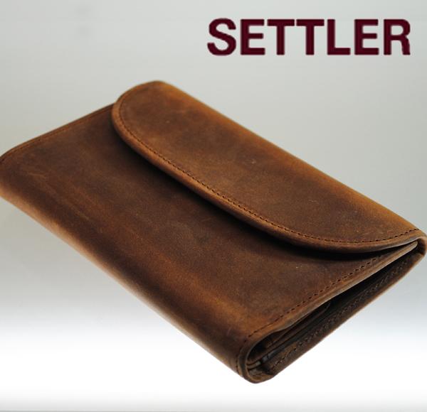【送料無料】【SETTLER セトラー 公式通販】OW-1112 3 Fold Purse Wallet 三つ折革財布