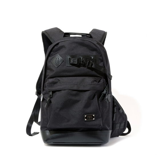【AS2OV アッソブ】EXCLUSIVE BALLISTIC NYLON DAY PACK - デイパック〈BLACK〉