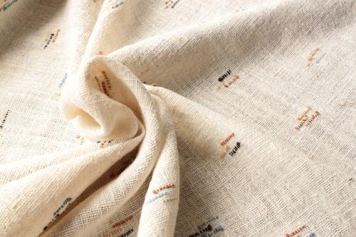 Shokuの布 販売価格は50cm単位です ミャンマーの布 ワンピースやバッグにも使えます 綿生地 品番S-1 期間限定お試し価格 WH ハンドメイドにどうぞ 登場大人気アイテム ナチュラル素材です コットン 004 幅70cm以上 草木染 手織りの布