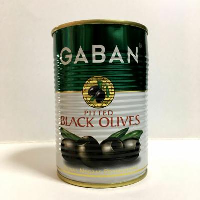 1缶当たり50~70粒入り お得なキャンペーンを実施中 ギャバン ブラックオリーブ種抜 期間限定特別価格 業務用 4号缶×4缶 GABAN