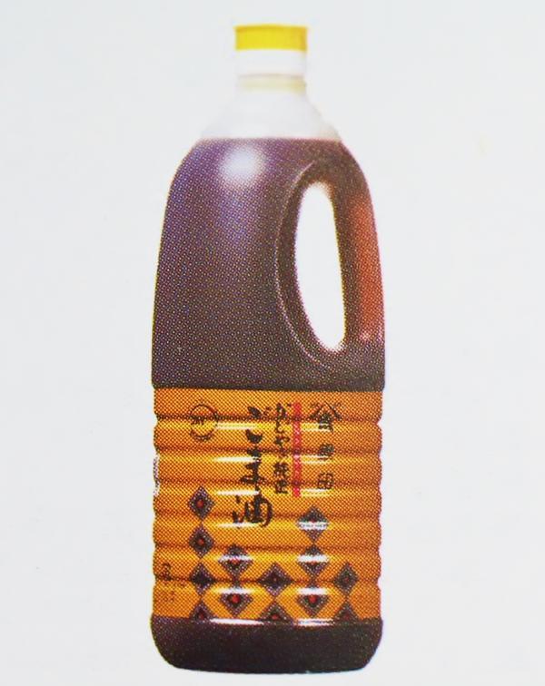 かどや 銀印ごま油(濃口) 1.65kg×6本×1箱