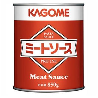 肉と野菜のかもしだす旨みと野菜の具材感たっぷりの手作り感 カゴメ ミートソース N 超目玉 ファッション通販 業務用� 850g×12缶×1箱