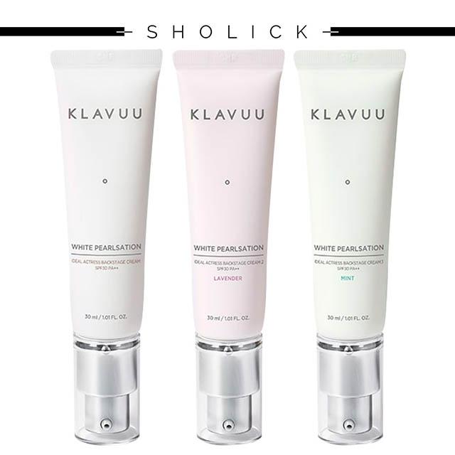 [KLAVUU]クラビューホワイトパールセーションアイディアルアクトレクバックステージクリーム30ml/韓国コスメ/韓国化粧品