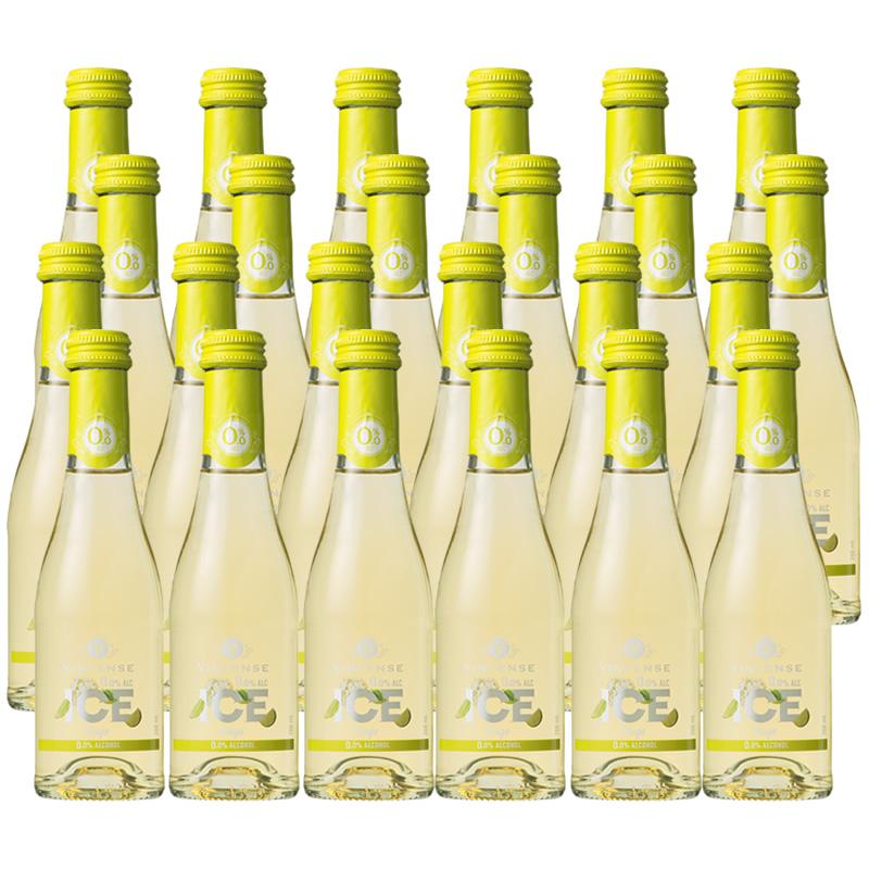 【送料無料|沖縄除く】ヴィンテンスアイス フーゴ200ml(ノンアルコールワイン+ライム+フレッシュミント)24本セット