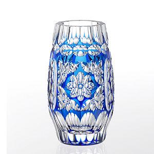 【木箱入り】皇室御用品 カガミクリスタル 花器・花瓶 ガラス(硝子)新築祝い 結婚祝い 開業祝い 開店祝い 母の日 敬老の日 記念日 退職祝いのプレゼント・贈り物・ギフトに! 業務用 フラワーベース 花瓶