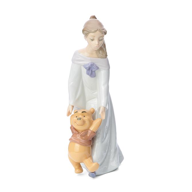 ナオ NAO プーさんと一緒 02001593 FUN WITH WINNIE THE POOH ポーセリン 陶器 Disney 【ラッキーシール対応】