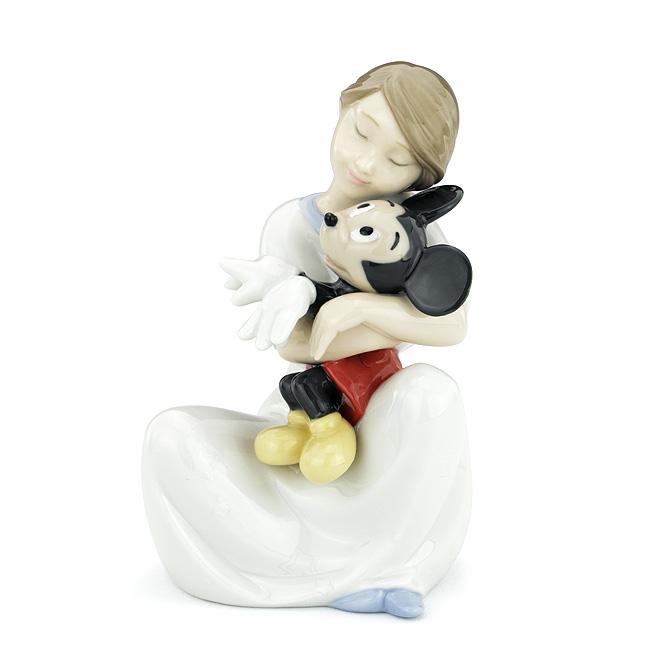 ナオ NAO 大好きミッキー 02001641 I LOVE YOU MICKEY ポーセリン 陶器 Disney 【ラッキーシール対応】