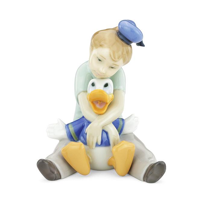 ナオ NAO ドナルドと夢の中 02001642 DAYDREAMING WITH DONALD ポーセリン 陶器 Disney 【ラッキーシール対応】