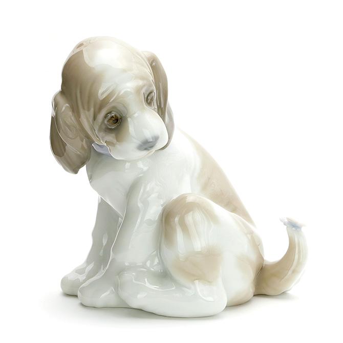 リヤドロ LLADRO マイフレンド 1006210 GENTLE SURPRISE ポーセリン 陶器 犬