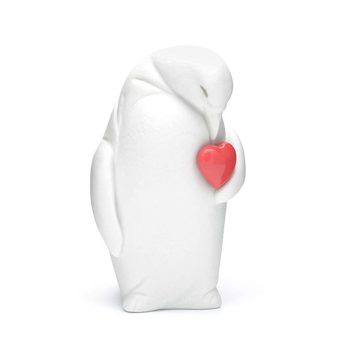 リヤドロ LLADRO コルビー (庇護の愛 ペンギン) 1009439 PENGUIN ポーセリン 陶器 Lovely World ラブリーワールドコレクション