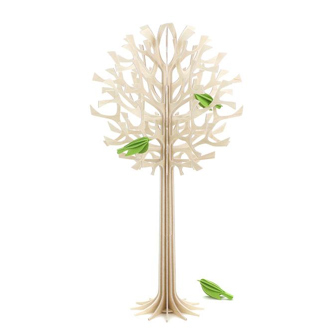 送料無料 一部地域を除く ロヴィ lovi 完全送料無料 ツリー 34cm + 特売 TREE ミニバード×3 グリーディングカード ウッド ナチュラル NATURAL 木