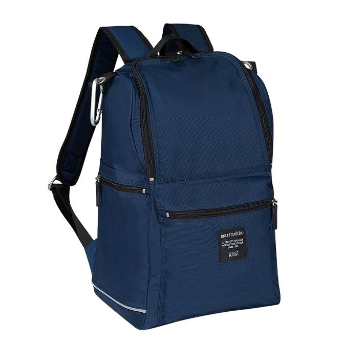 マリメッコ marimekko バディ バックパック (ナイトブルー) 047018 555 Buddy backpack night blue ブルー ネイビー 【ラッキーシール対応】