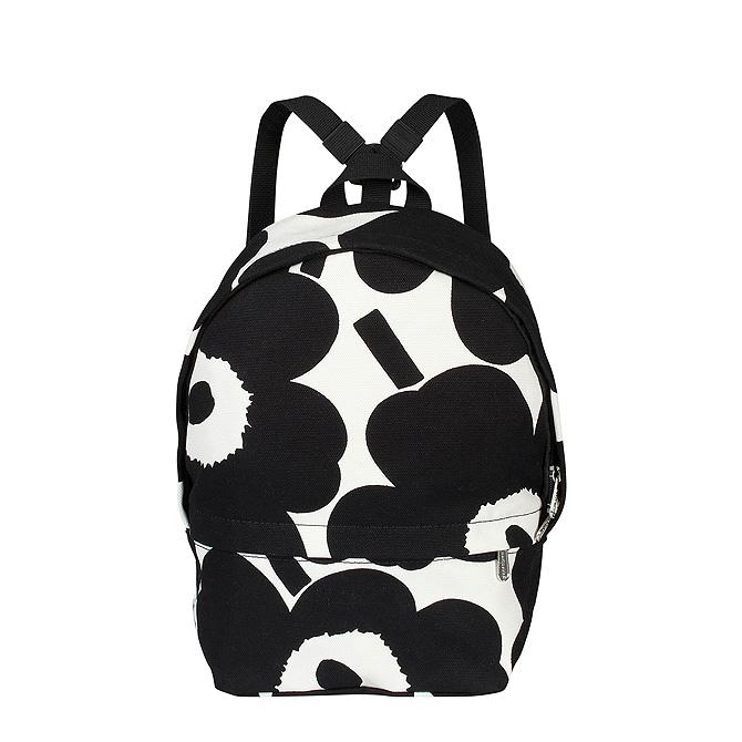 マリメッコ marimekko ピエニウニッコ バックパック (オフホワイト×ブラック) 047327 192 Mini Eira Pieni Unikko backpack 【ラッキーシール対応】