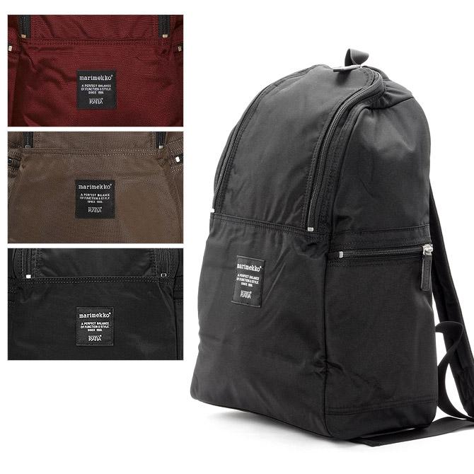 マリメッコ marimekko ナイロン バックパック METRO (3カラー) 039972 メトロ Metro Reppu backpack 【ラッキーシール対応】