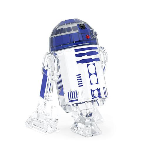 スワロフスキー SWAROVSKI スターウォーズ R2-D2 / 6.8 x 4.5 x 4.4 cm (クリア×ブルー) 5301533 STAR WARS R2-D2 フォースの覚醒 【ラッキーシール対応】
