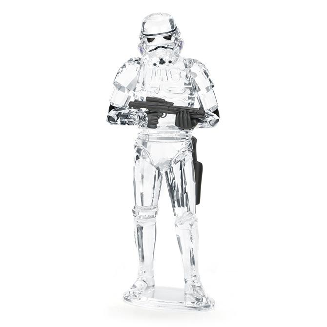 スワロフスキー SWAROVSKI スターウォーズ ストームトルーパー / 12 x 4.6 x 3.7 cm (クリア) 5393588 STAR WARS STORMTROOPER 【ラッキーシール対応】