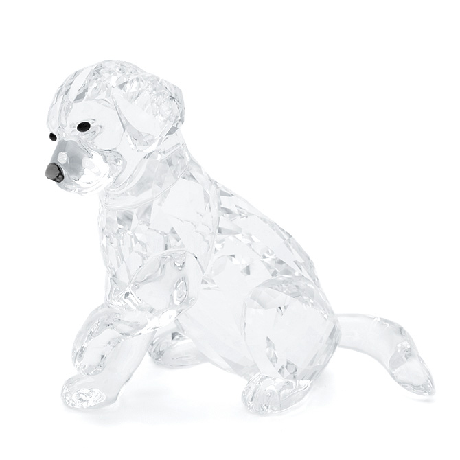 スワロフスキー SWAROVSKI ラブラドールのお母さん 5 x 6.5 x 6.5 cm (クリア) 5399004 LABRADOR MOTHER 犬 ドッグ フィギュリン 【ラッキーシール対応】