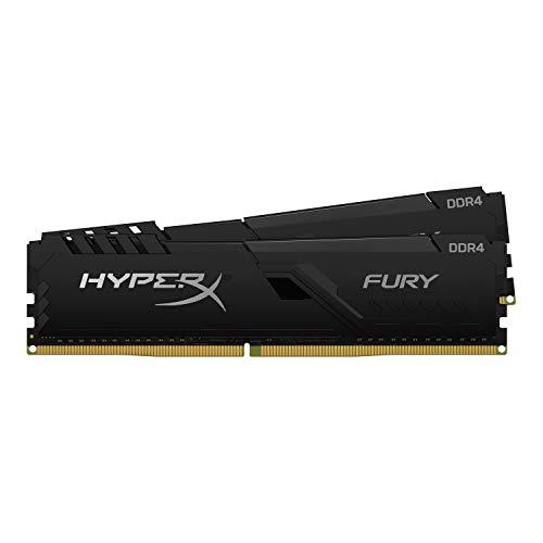 キングストン Kingston デスクトップPC用メモリ DDR4 3200MHz 16GBx2枚 HyperX FURY 今季も再入荷 32 セール特価 DIMM Black Memory HX432C16FB4K2 Unbuffered