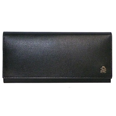 ダンヒル 財布 dunhill 長財布/ファスナー式小銭入れ L2S810A ブラック 【BELGRAVE(ベルグレイブ)】 【あす楽対応】【送料無料】【はこぽす対応商品】