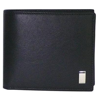ダンヒル 財布 dunhill 二つ折り財布/小銭入れ付 QD3070A 【サイドカー ブラック】【あす楽対応】【送料無料】【はこぽす対応商品】
