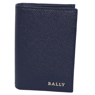 バリー 財布 BALLY 名刺入れ(カードケース) LIANSON 6202744 217 ダークネイビー 【あす楽】【送料無料】【はこぽす対応商品】