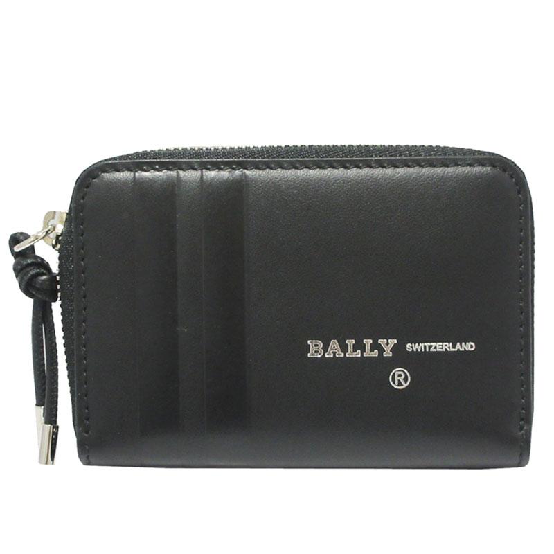 バリー 財布 BALLY コインケース 小銭入れ カード入れ BIVY.DE 6226443 ブラック 【送料無料】 【あす楽】【はこぽす対応商品】