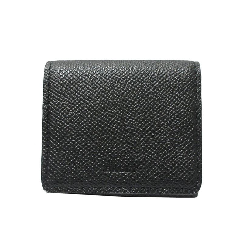 バリー 財布 BALLY コインケース 小銭入れ カード入れ BARTON.B 6228864 ブラック 【送料無料】 【あす楽】【はこぽす対応商品】
