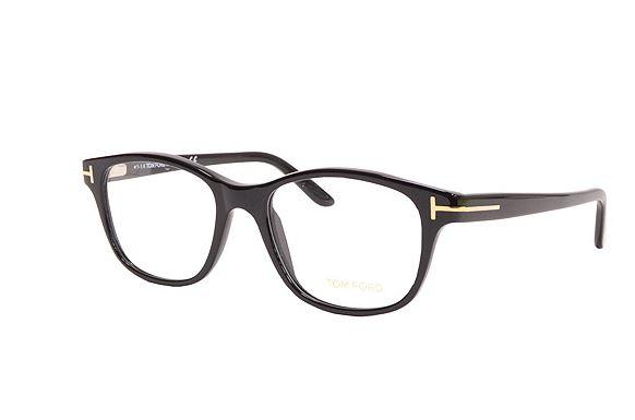 【送料無料】TOM FORD トムフォードメガネフレーム ウェリントン型5196 001ブラック 伊達眼鏡